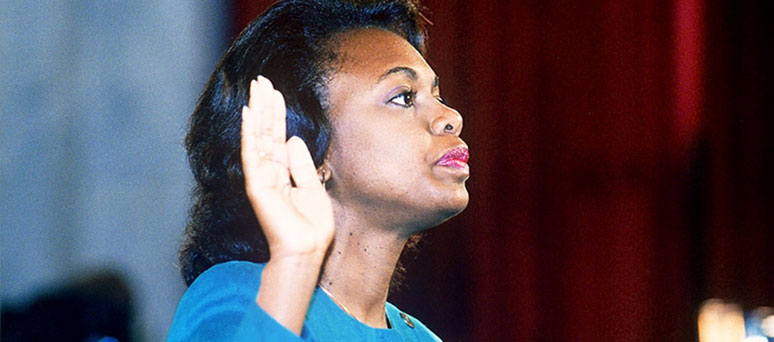 Anita Hill in 1991