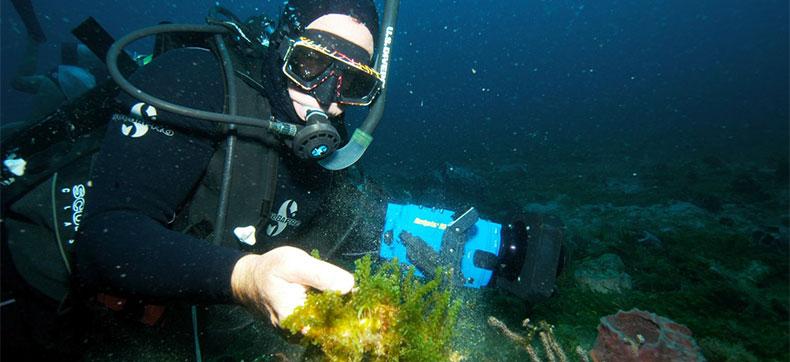Working under water