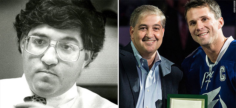 Then and now: Jeff Vinik in his 30s, left, as fund manager for Fidelity. And, right, his reinvention in Tampa