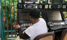 Backyard Casino at Calder      Credit: Nick Sortal