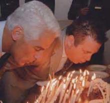 Ponzi schemer Scott Rothstein's birthday cake for Charlie