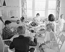Holiday at the Kennedy Compound, 1963