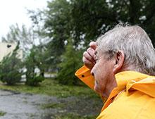 Weary Florence survivor waits for help