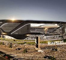 This $1.9 billion stadium will be home to the NFL's Las Vegas Raiders
