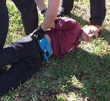 Nikolas Cruz captured on Valentine's Day