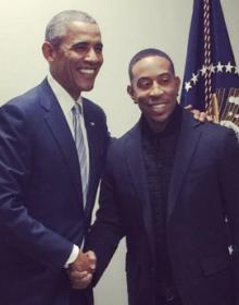 President Obama and Ludicris