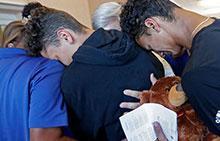 Student prayer vigil