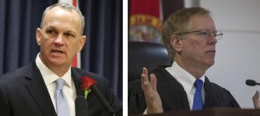 Richard Corcoran and Judge John Cooper