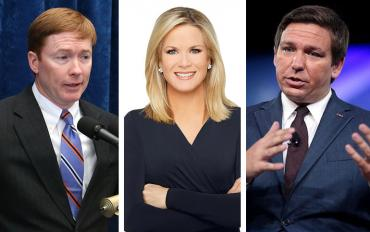 Adam Putnam, Martha MacCallum and Ron DeSantis