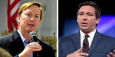Adam Putnam and Ron DeSantis