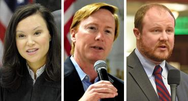 Ashley Moody, Adam Putnam and Matt Caldwell