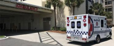 Baptist Medical Center Beaches moved patients away from the water