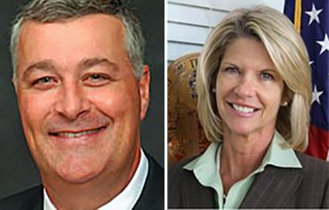 Ben Albritton and Debbie Mayfield