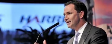 Bill Brown, Harris CEO, announces the merger