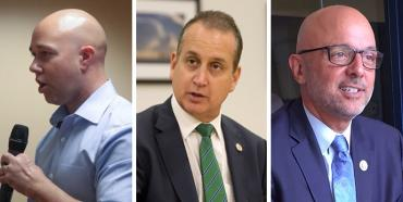 Brian Mast, Mario Diaz-Balart and Ted Deutch