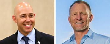 Brian Mast and Randy Perkins