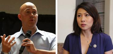 Brian Mast and Stephanie Murphy