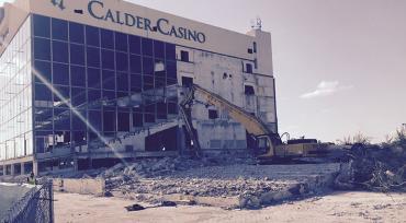 Calder grandstand demolished in 2017