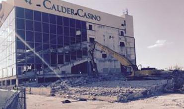 Calder demolished its grandstands in 2017