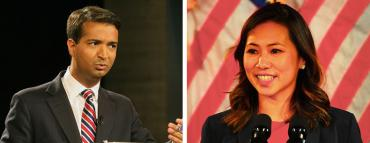 Carlos Curbelo and Stephanie Murphy