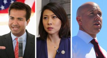 Carlos Curbelo, Stephanie Murphy and Brian Mast