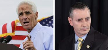 Charlie Crist and Brian Fitzpatrick