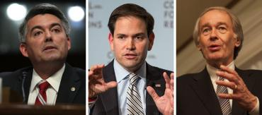 Cory Gardner, Marco Rubio and Ed Markey