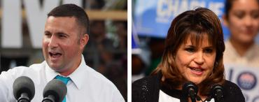 Darren Soto and Annette Taddeo