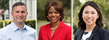 Darren Soto, Val Demings, Stephanie Murphy