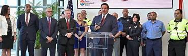Ron DeSantis highlights tourism in Tampa