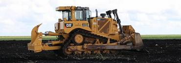 On Oct. 14 a bulldozer crew cleared 560 acres on the reservoir site