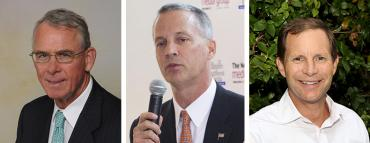 Francis Rooney, Curt Clawson and Chauncey Goss