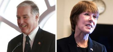 Howard Dean and Gwen Graham