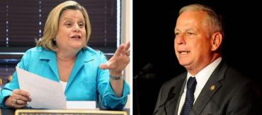 Ileana Ros-Lehtinen and Gene Green