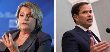 Ileana Ros-Lehtinen and Marco Rubio