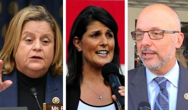 Ileana Ros-Lehtinen, Nikki Haley and Ted Deutch