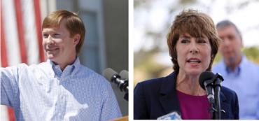 Adam Putnam and Gwen Graham