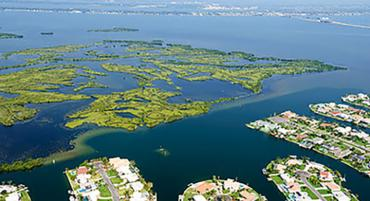 Indian River Lagoon at Brevard County
