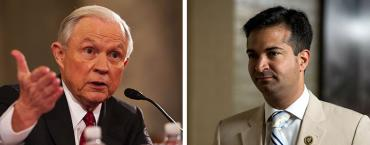 Jeff Sessions and Carlos Curbelo