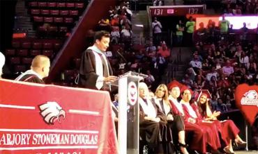 Jimmy Fallon gives the MSDHS commencement address