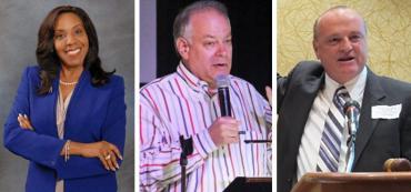 Judy Mount, Stephen Bittel and Alan Clendenin