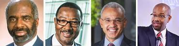 Larry Robinson, Jaffus Hardrick, E. LaBrent Chrite, and A. Zachary Faison