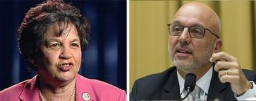 Lois Frankel and Ted Deutch