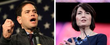 Marco Rubio and Cathy McMorris Rodgers