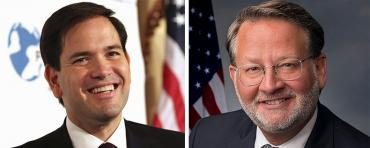 Marco Rubio and Gary Peters