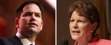 Marco Rubio and Jeanne Shaheen