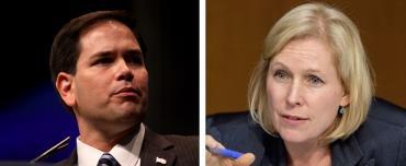 Marco Rubio and Kirsten Gillibrand