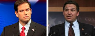 Marco Rubio and Ron DeSantis