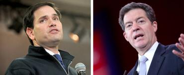 Marco Rubio and Sam Brownback