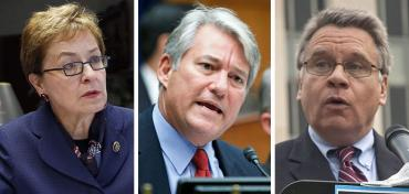 Marcy Kaptur, Dennis Ross, and Chris Smith